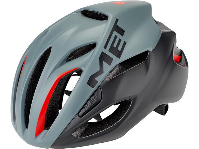 MET Rivale Casco, gray/black/ mejores cascos por menos de 150 euros